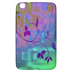 Floral Multicolor Samsung Galaxy Tab 3 (8 ) T3100 Hardshell Case