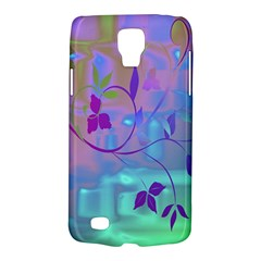 Floral Multicolor Samsung Galaxy S4 Active (I9295) Hardshell Case