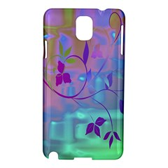 Floral Multicolor Samsung Galaxy Note 3 N9005 Hardshell Case