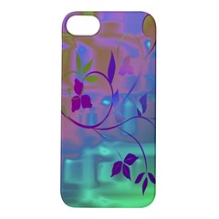 Floral Multicolor Apple iPhone 5S Hardshell Case