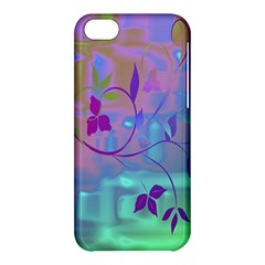 Floral Multicolor Apple iPhone 5C Hardshell Case