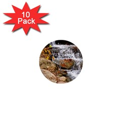 Waterfall 1  Mini Button (10 pack)