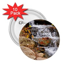 Waterfall 2 25  Button (10 Pack)