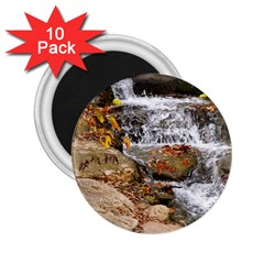 Waterfall 2 25  Button Magnet (10 Pack)