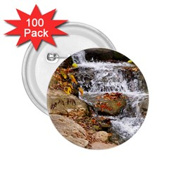 Waterfall 2.25  Button (100 pack)