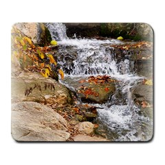 Waterfall Large Mouse Pad (Rectangle)