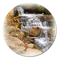 Waterfall Magnet 5  (Round)