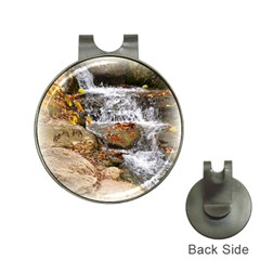 Waterfall Hat Clip with Golf Ball Marker