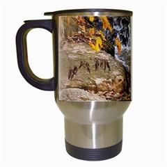 Waterfall Travel Mug (White)