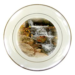Waterfall Porcelain Display Plate