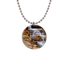 Waterfall Button Necklace