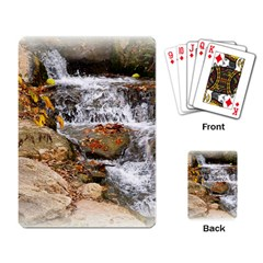 Waterfall Playing Cards Single Design