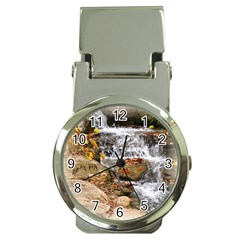 Waterfall Money Clip with Watch
