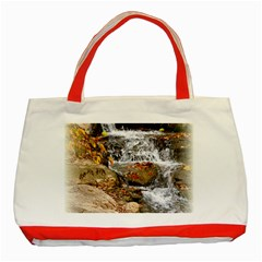 Waterfall Classic Tote Bag (Red)