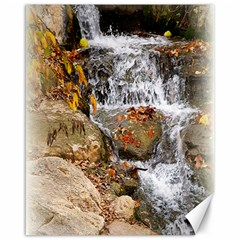 Waterfall Canvas 16  x 20  (Unframed)