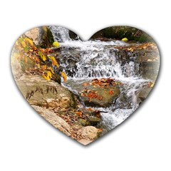Waterfall Mouse Pad (Heart)