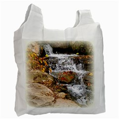 Waterfall Recycle Bag (two Sides)