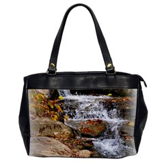 Waterfall Oversize Office Handbag (One Side)