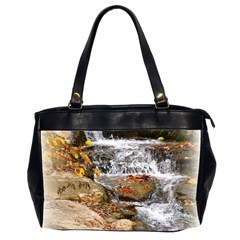 Waterfall Oversize Office Handbag (Two Sides)