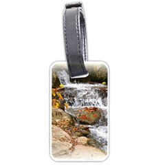 Waterfall Luggage Tag (One Side)