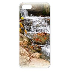 Waterfall Apple Iphone 5 Seamless Case (white)