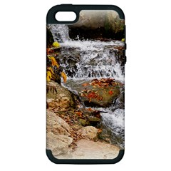 Waterfall Apple iPhone 5 Hardshell Case (PC+Silicone)