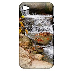 Waterfall Apple Iphone 4/4s Hardshell Case (pc+silicone)