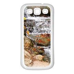 Waterfall Samsung Galaxy S3 Back Case (white)