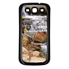 Waterfall Samsung Galaxy S3 Back Case (black)