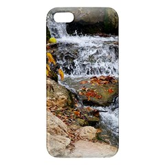 Waterfall iPhone 5S Premium Hardshell Case