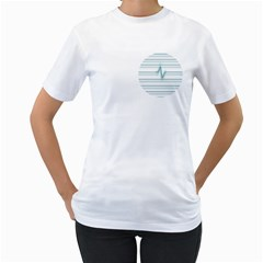 I m Alive Womens  T Shirt (white)