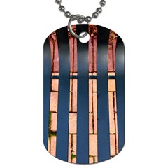Bench Dog Tag (Two-sided)