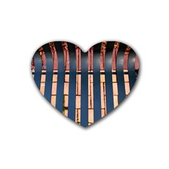 Bench Drink Coasters 4 Pack (Heart)