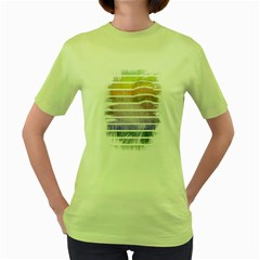 Nervous Womens  T-shirt (Green)