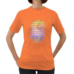 Nervous Womens' T-shirt (Colored)