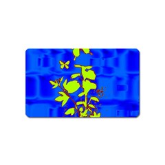 Butterfly Blue/green Magnet (name Card)