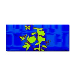Butterfly blue/green Hand Towel