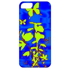 Butterfly blue/green Apple iPhone 5 Classic Hardshell Case