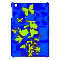 Butterfly blue/green Apple iPad Mini Hardshell Case