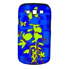 Butterfly blue/green Samsung Galaxy S III Classic Hardshell Case (PC+Silicone)