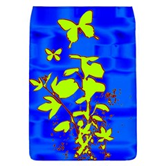 Butterfly Blue/green Removable Flap Cover (large)