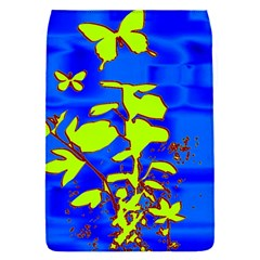 Butterfly Blue/green Removable Flap Cover (small)