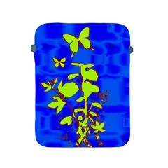 Butterfly blue/green Apple iPad Protective Sleeve