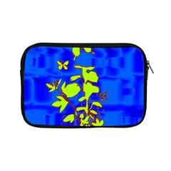 Butterfly blue/green Apple iPad Mini Zippered Sleeve