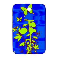 Butterfly blue/green Samsung Galaxy Note 8.0 N5100 Hardshell Case