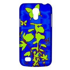 Butterfly blue/green Samsung Galaxy S4 Mini (GT-I9190) Hardshell Case