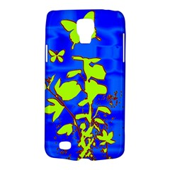 Butterfly Blue/green Samsung Galaxy S4 Active (i9295) Hardshell Case