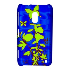 Butterfly blue/green Nokia Lumia 620 Hardshell Case
