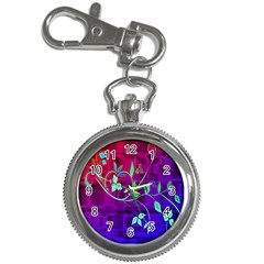 Floral Colorful Key Chain & Watch