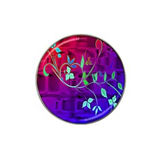 Floral Colorful Golf Ball Marker 10 Pack (for Hat Clip)